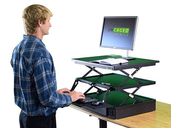 Electric CHANGEdesk: Height Adjustable Standing Desk