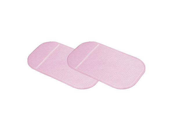 Non-Slip Dashboard Pad: 2-Pack (Pink)