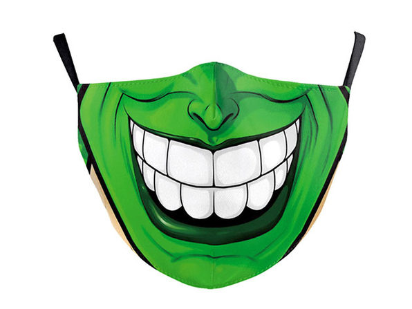 Halloween Reusable Cloth Face Mask (The Mask)