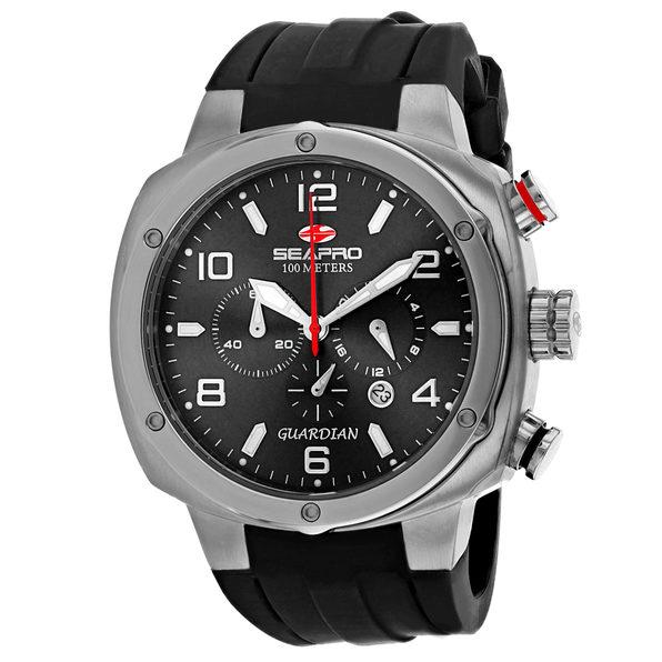 Seapro Men's Guardian Black Dial Watch - SP3341