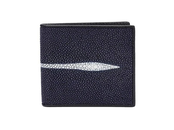 Andre Giroud exotic stingray wallet - navy blue - Product Image
