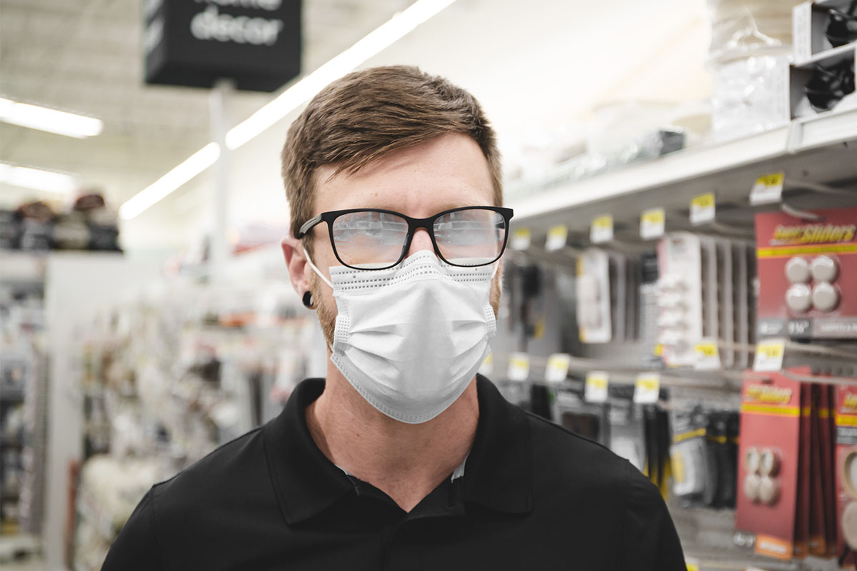 FogBlockAnti-Fog Solution for PPE Masks & Glasses, on sale for $12.99 (13% off)