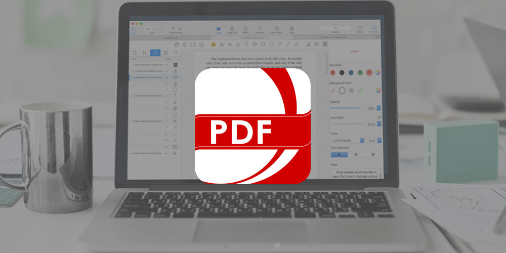 Edit, highlight, and bookmark any PDF for $25 with PDF Reader Pro
