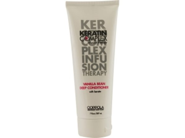 KERATIN COMPLEX by Coppola VANILLA BEAN DEEP CONDITIONER WITH KERATIN 7 OZ for UNISEX ---(Package Of 4)