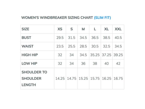 Womens windbreaker