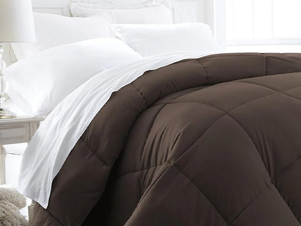 Down Alternative Comforter - ChocolateTwin/Twinxl - Product Image