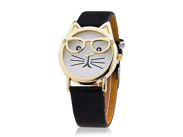 The Purr-Fect Watch (Black) - Product Image