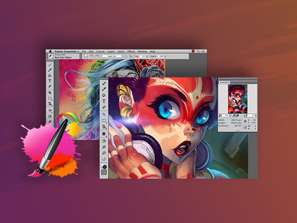 Amazon.com: Corel Painter Essentials 5: Software