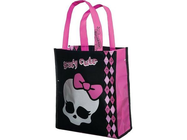 Monster High Mini Tote Bag - Skull