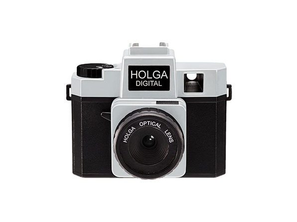 Holga Retro Digital Camera (Black/Silver)