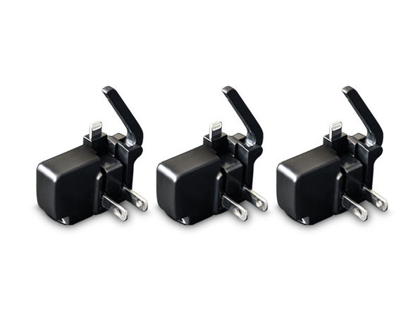 Chargerito: The World's Smallest iPhone Charger (3-Pack)