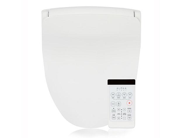 A bidet seat and remote control