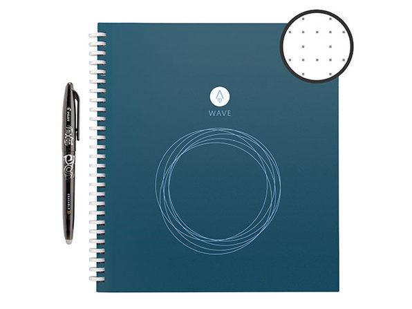 Rocketbook Wave Standard Smart Notebook with Pen Station