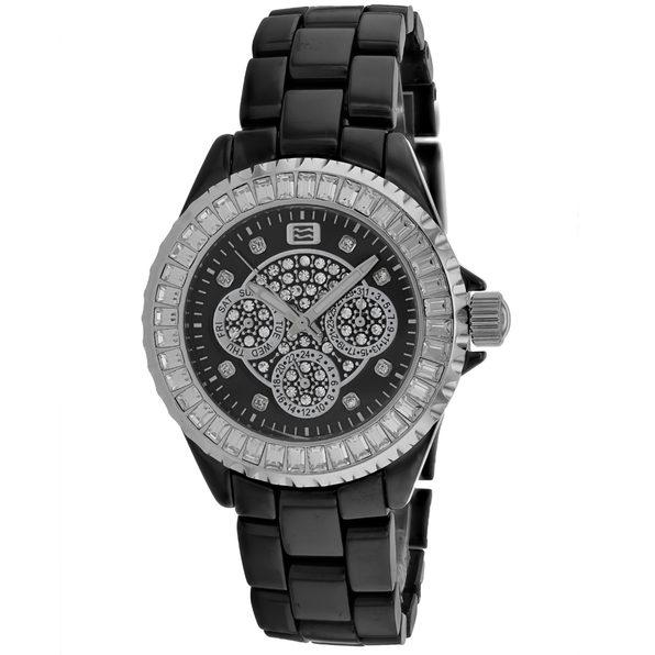 Oceanaut Women's Black Dial Watch - OC0214C