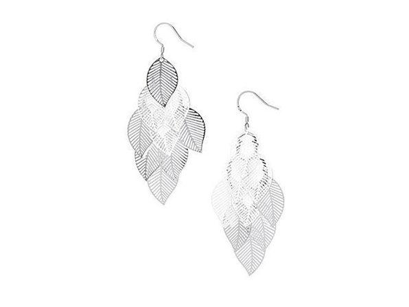 Ava Leaf Earrings