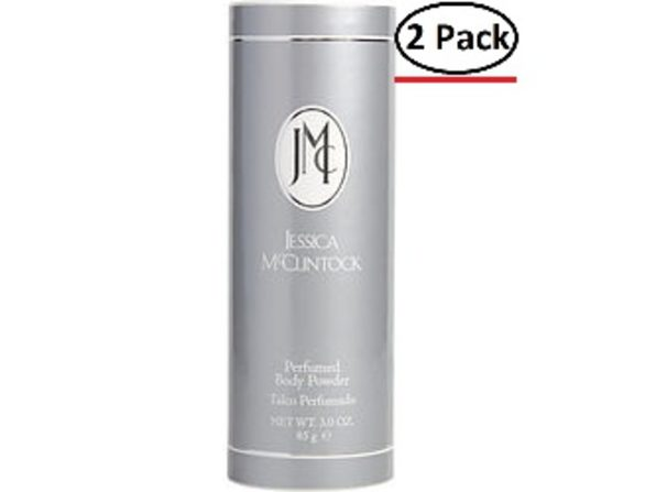 Jessica Mcclintock By Jessica Mcclintock Body Powder 3 Oz For Women (Package Of 2)