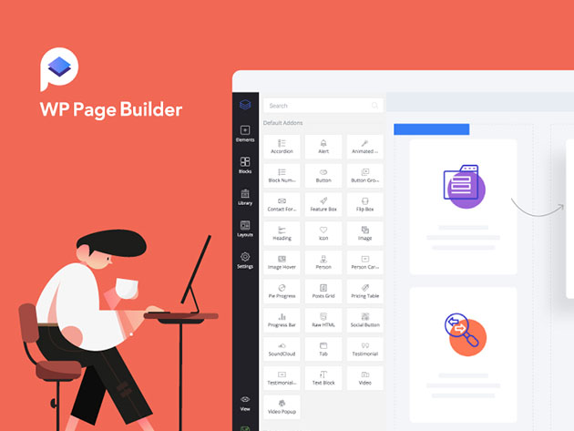 Stack Social Deal for WP Page Builder Unlimited License Plan: Lifetime Subscription