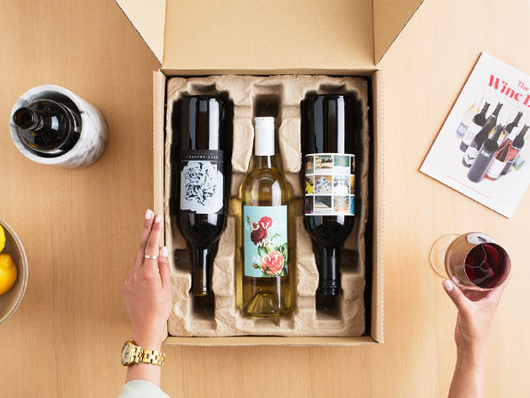 Winc 4-Bottle Wine Selection & Delivery Box