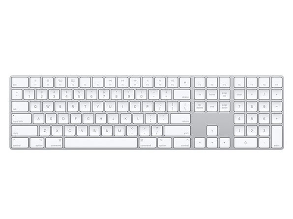 Apple Wireless Magic Keyboard with Numeric Keypad (Certified Refurbished) - Product Image