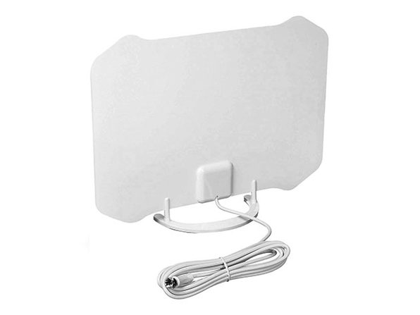 AT-133 Paper Thin Indoor TV Antenna with Table Stand