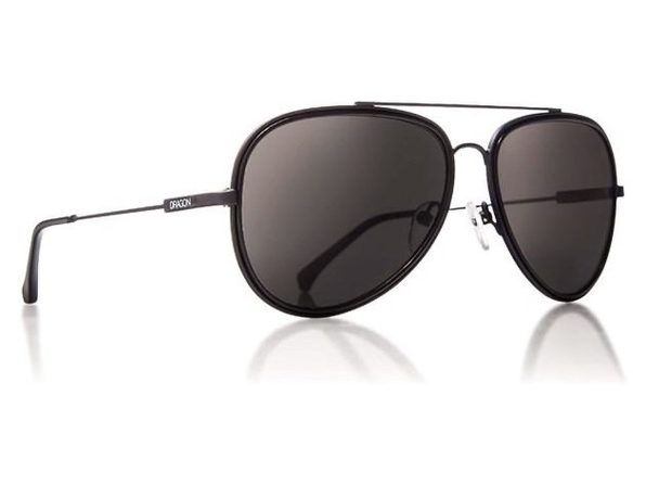 Dragon Alliance Status 2657-002 Black Mens Sunglasses - Black