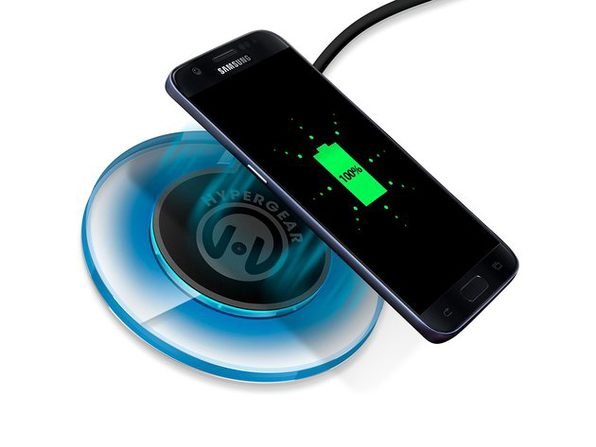 HyperGear Wireless Charger PowerPort Qi Wireless Charging Pad - Used
