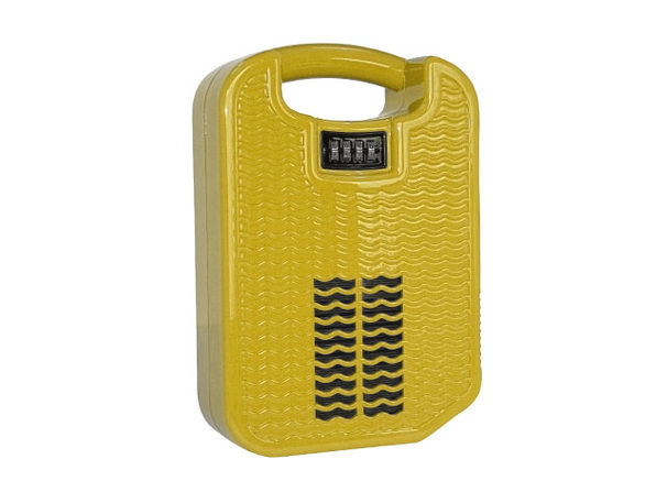 beachsafe® Valuables Storage & Safe with Phone Charging/Cooling (Sunshine Yellow)