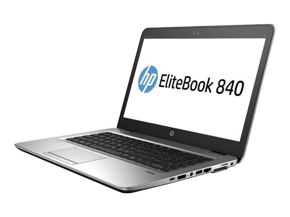 "HP EliteBook 840G3 14"" Laptop, 2.4GHz Intel i5 Dual Core Gen 6, 8GB RAM, 256GB SSD, Windows 10 Home 64 Bit (Renewed)"