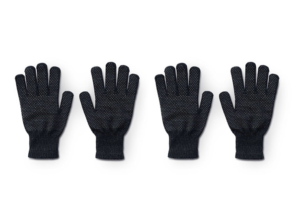 Knit Touchscreen Gloves: 2 Pairs