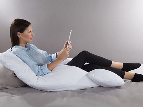 7-in-1 Jumbo Pillow with Removable Cover