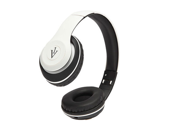 Sonic Bluetooth On-Ear Headphones (White)