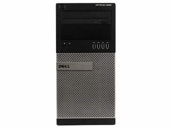 Dell Optiplex 9020 Tower PC, 3.2GHz Intel i5 Quad Core Gen 4, 4GB RAM, 120GB SSD, Windows 10 Home 64 bit (Renewed)