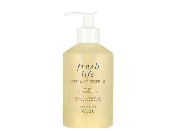 Fresh Life Bath & Shower Gel with Vitamins C & E 10oz (300ml)