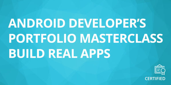 Android Developer's Portfolio Masterclass - Product Image