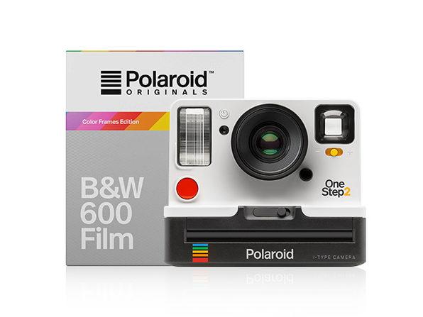 Black and white with photobox