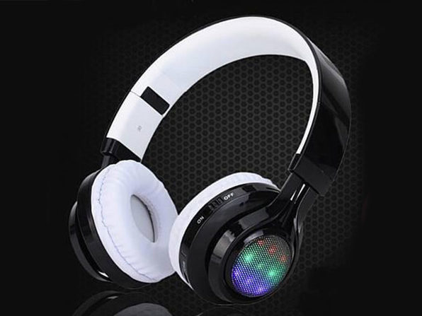 Disco Scene LED Bluetooth Headphones