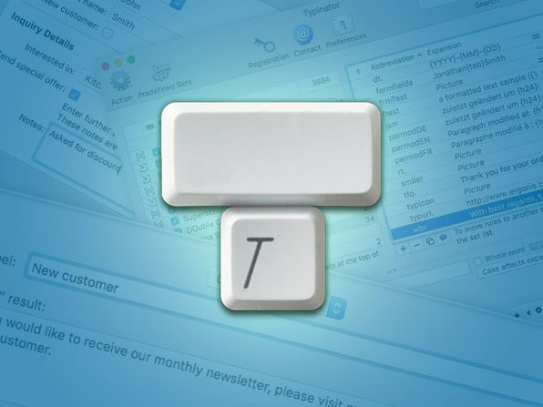 Typinator Typing Assistant