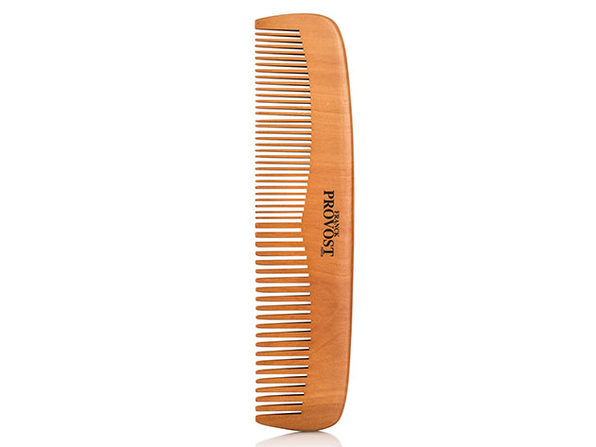 Non-Static Wooden Fine & Coarse Hair Comb