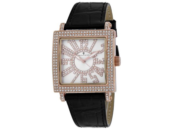 Christian Van Sant Women's Silver Dial Watch - CV0242