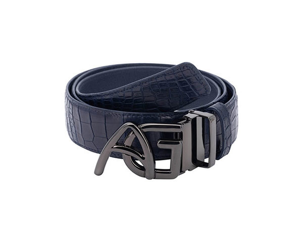 Andre Giroud Exotic Alligator Belt