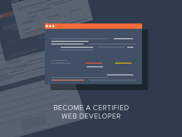 Become a Certified Web Developer - Product Image