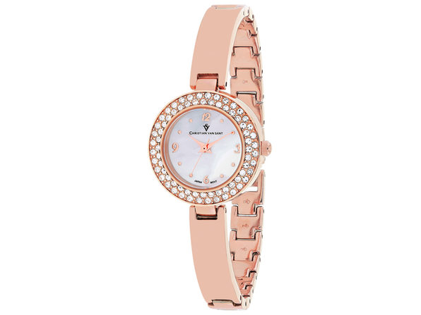Christian Van Sant Women's Palisades White MOP Dial Watch - CV8613