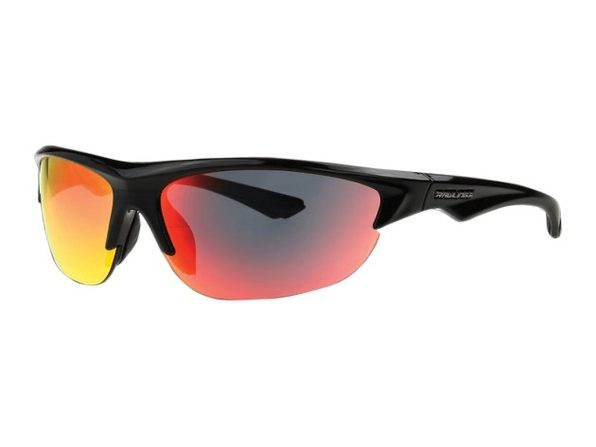 Rawlings 10241766.QTM Youth Half-Rim Sunglass, Black - Black