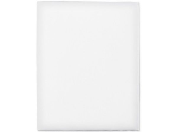 Hotel Collection 100% Cotton Italian Percale 78 X 80 Inch King Fitted Sheet, White