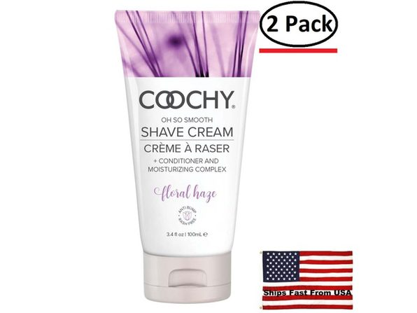 ( 2 Pack ) Coochy Shave Cream - Floral Haze - 3.4 Oz - Product Image