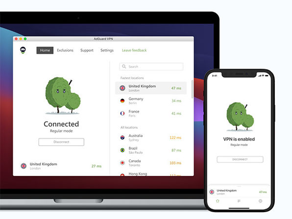 5-Year AdGuard VPN Subscription (5 Devices)