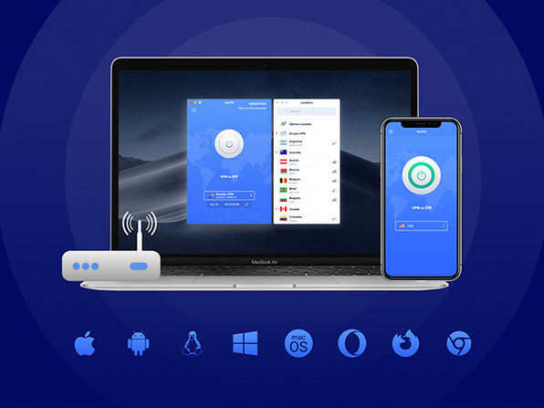 VPN by VeePN: Lifetime Subscription (5 Devices)