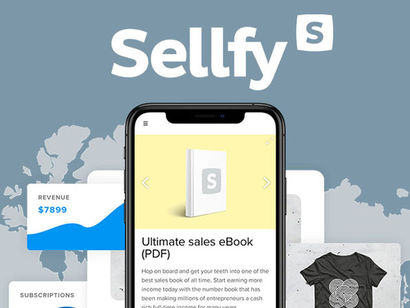 Sellfy Starter Plan: 3-Year Subscription