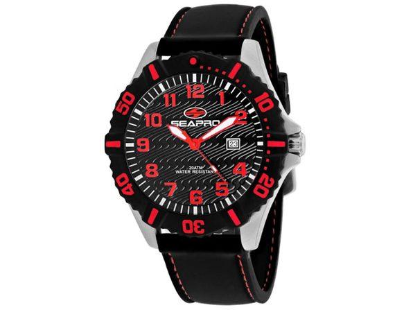 Seapro Men's Trooper Black Dial Watch - SP1514