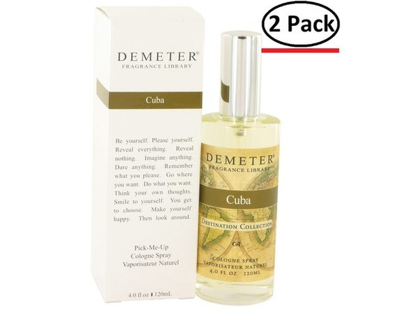 Demeter by Demeter Cuba Cologne Spray 4 oz for Women (Package of 2) - Product Image